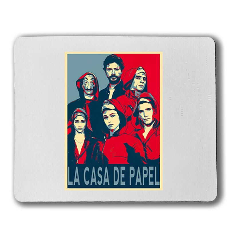 La Casa De Papel(red,blue) Egérpad