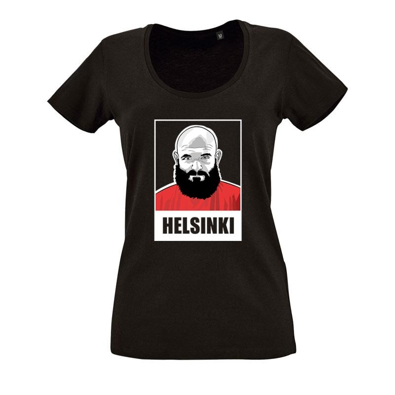 Helsinki minimal O nyakú női póló