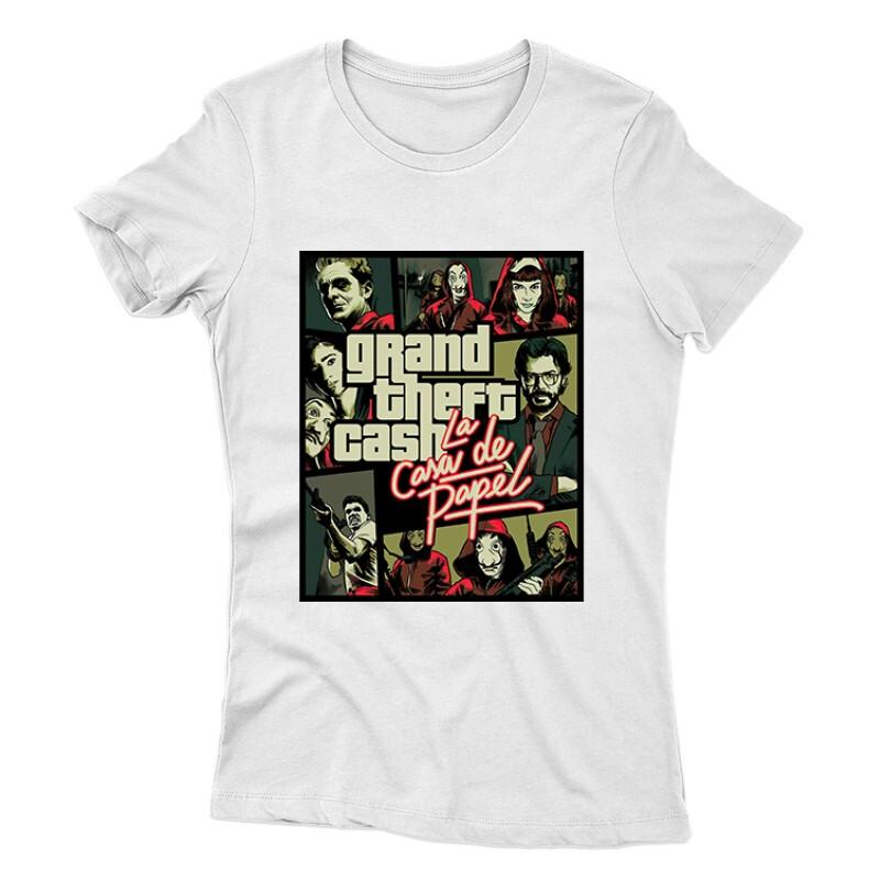 Grand Theft Cash Női póló