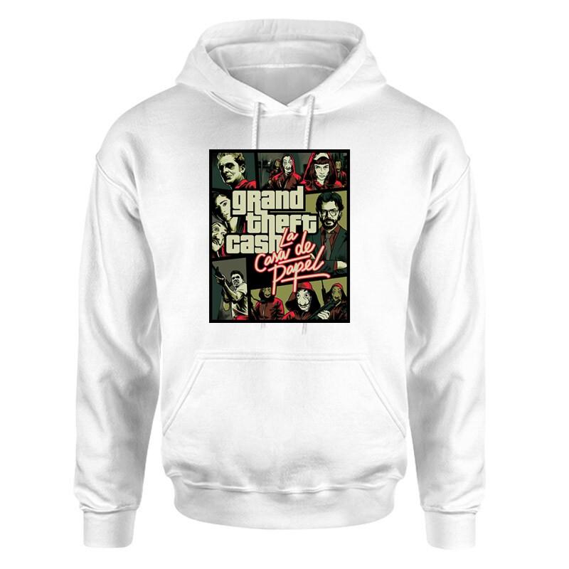 Grand Theft Cash Unisex pulóver
