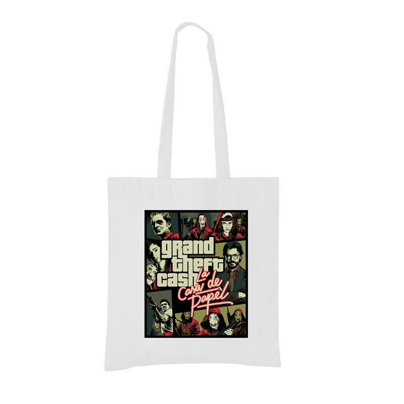 Grand Theft Cash Bevásárló táska