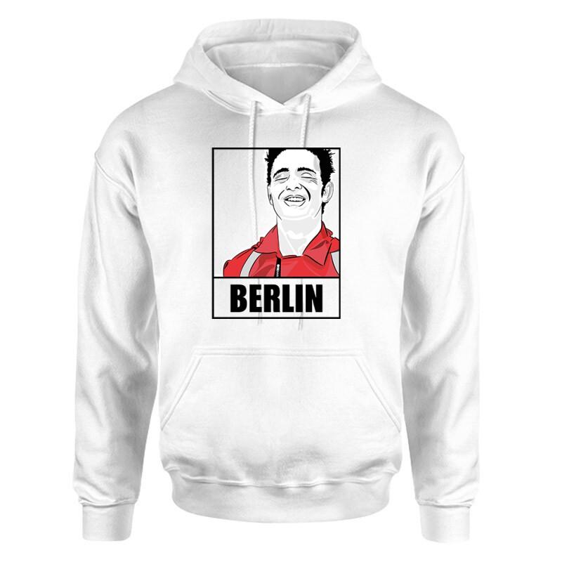 Berlin Minimal Unisex pulóver