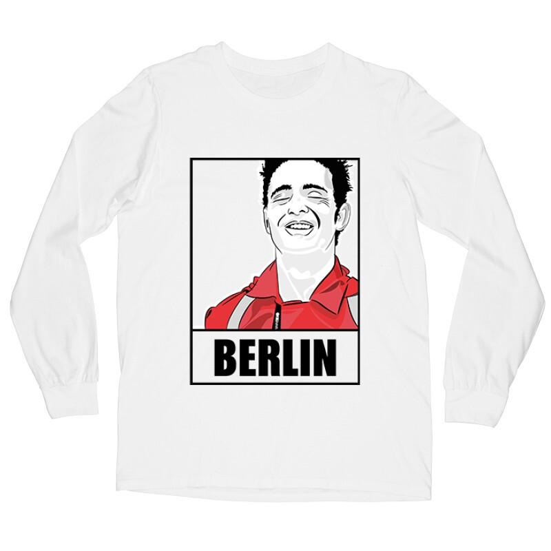 Berlin Minimal Hosszú ujjú póló