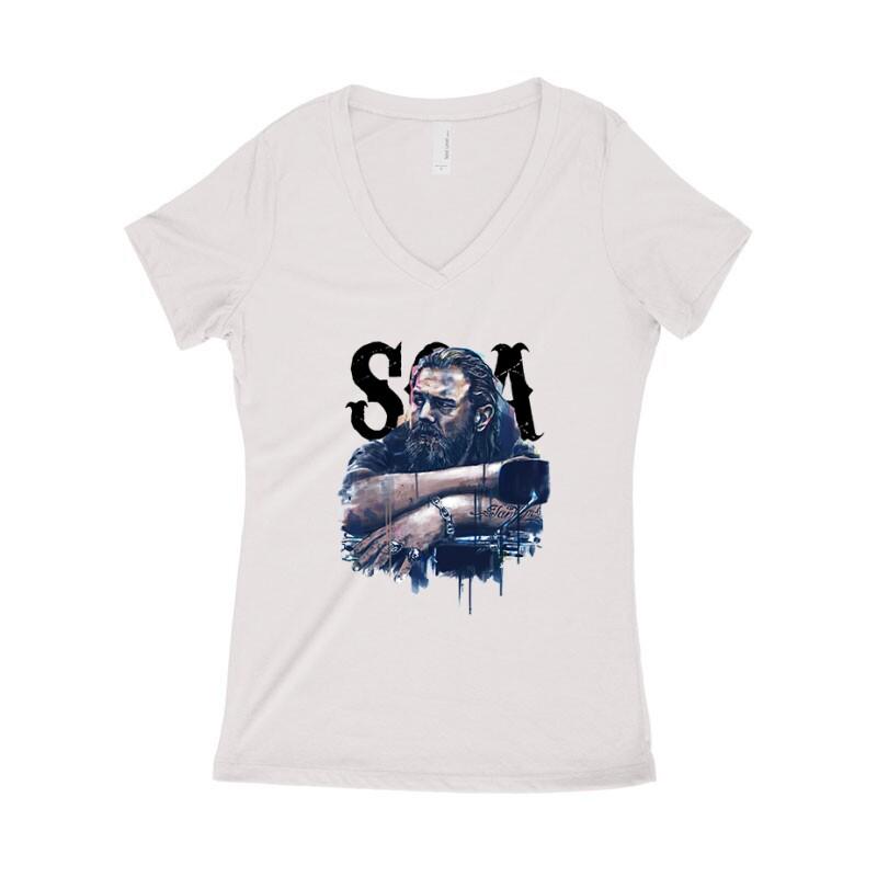 SOA Opie Női póló V kivágott