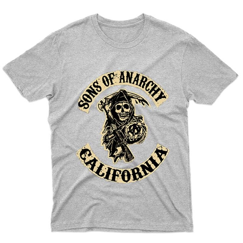 SOA Logo Férfi póló