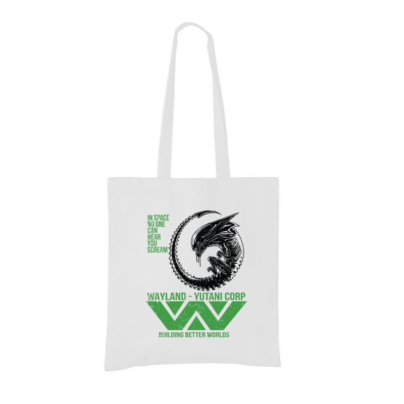 In Space Scream Bevásárló táska