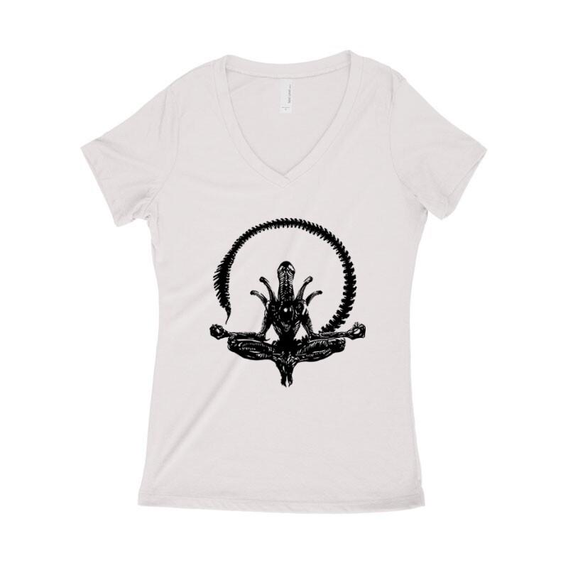 Alien Zen Női póló V kivágott