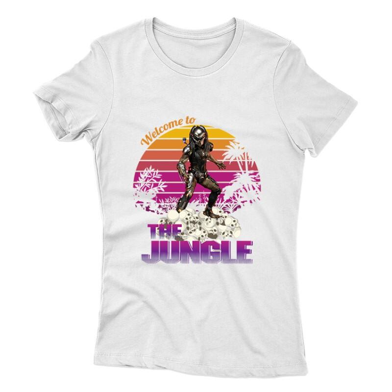 Welcome To The Jungle Női póló