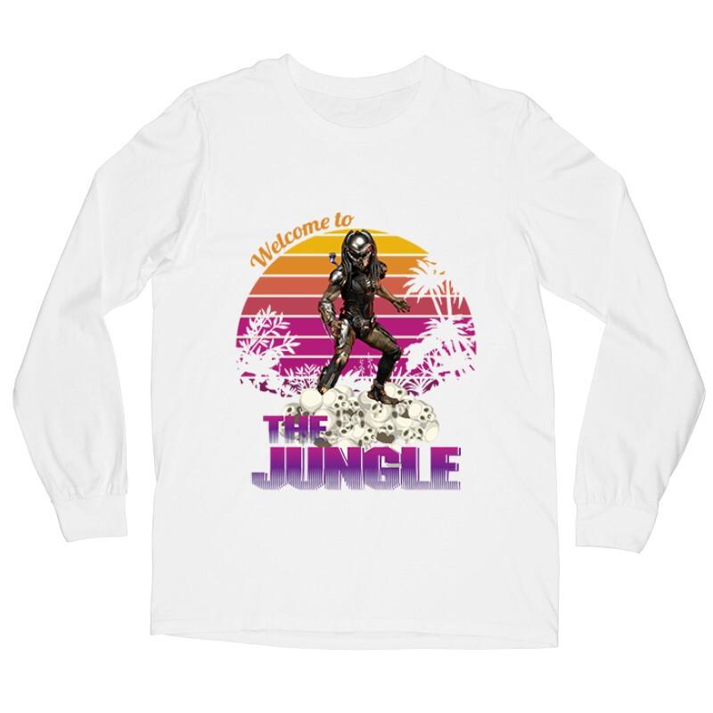Welcome To The Jungle Hosszú ujjú póló