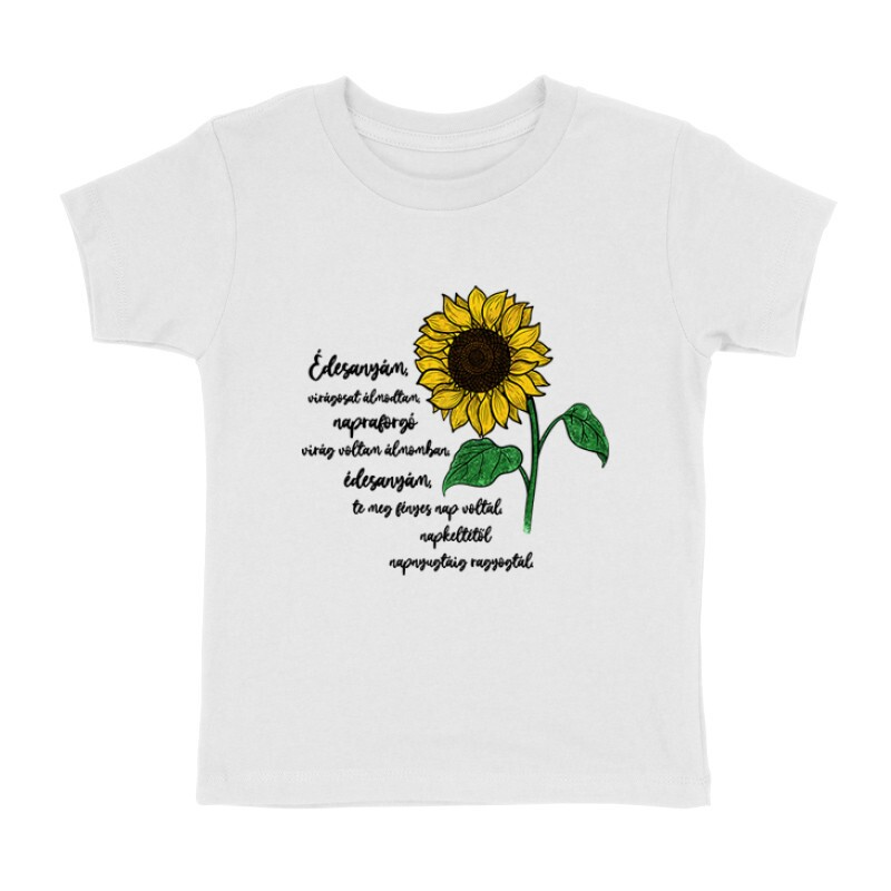 Virágosat Álmodtam Gyermek póló