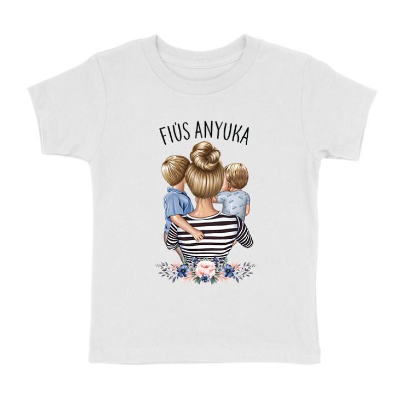 Fiús Anyuka (Gyerekekkel) Gyermek póló