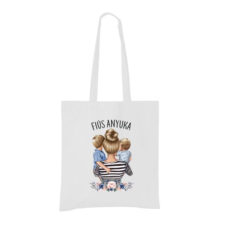 Fiús Anyuka (Gyerekekkel) Bevásárló táska