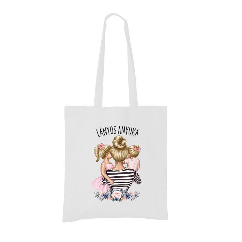 Lányos Anyuka (Gyerekekkel) Bevásárló táska