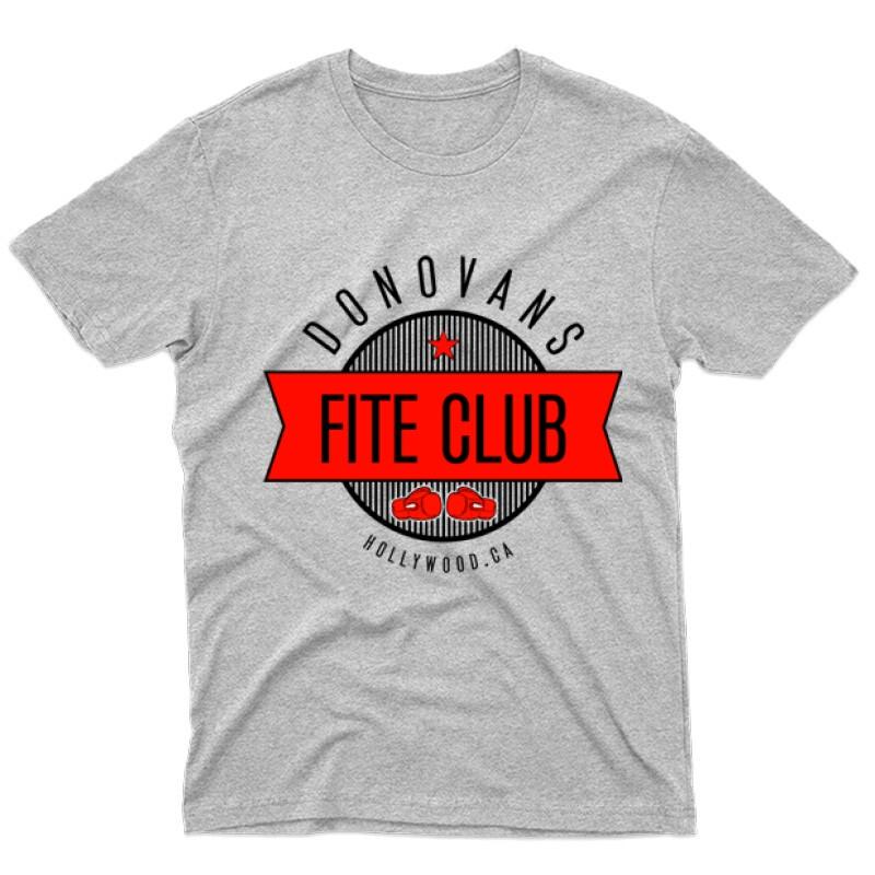 Donovans Fight Club Férfi póló