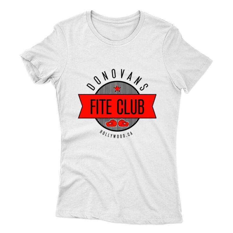 Donovans Fight Club Női póló