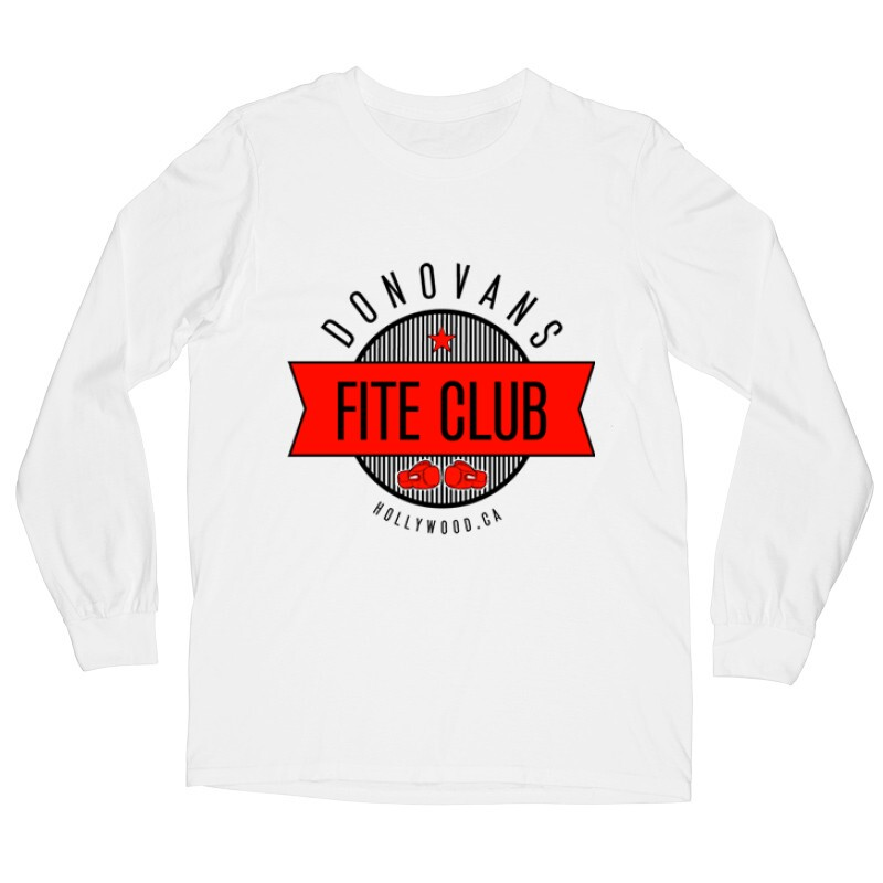 Donovans Fight Club Hosszú ujjú póló
