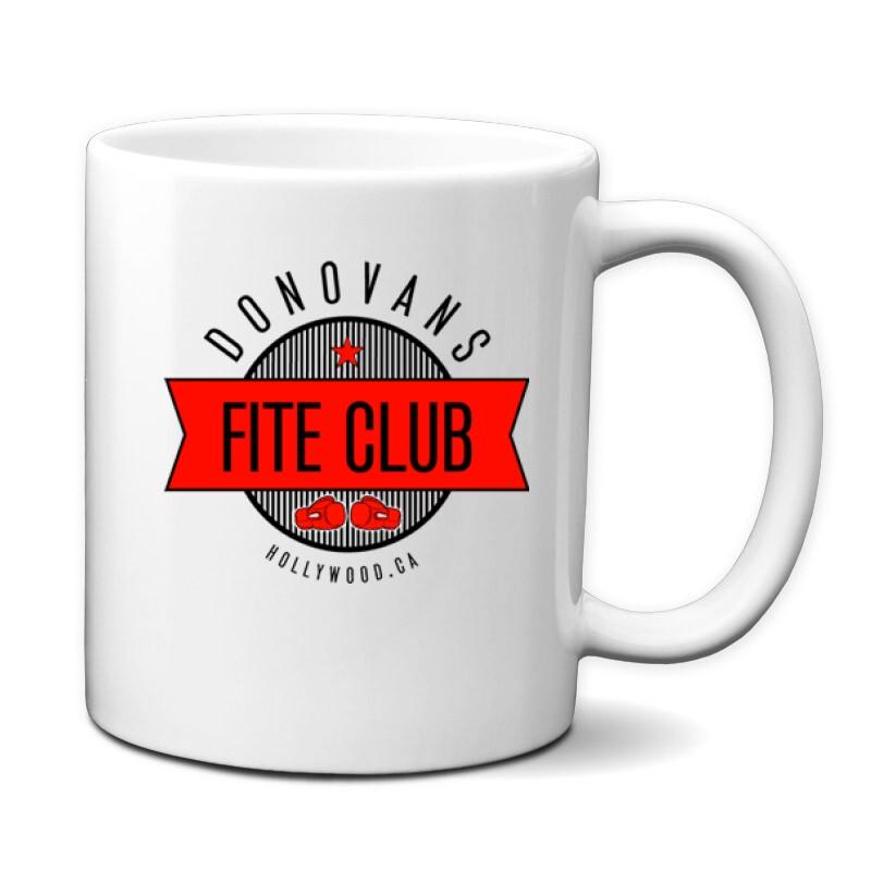 Donovans Fight Club Bögre