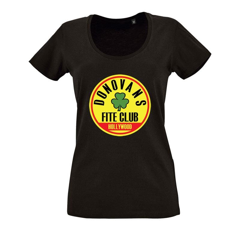 Fite Club (Lóhere) O nyakú női póló