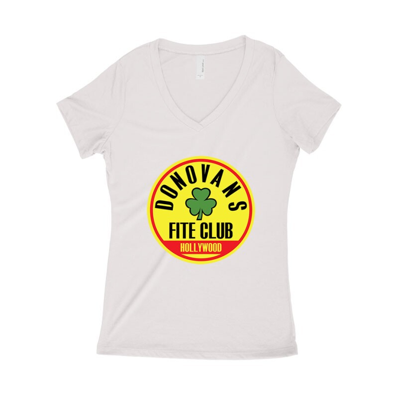 Fite Club (Lóhere) Női póló V kivágott