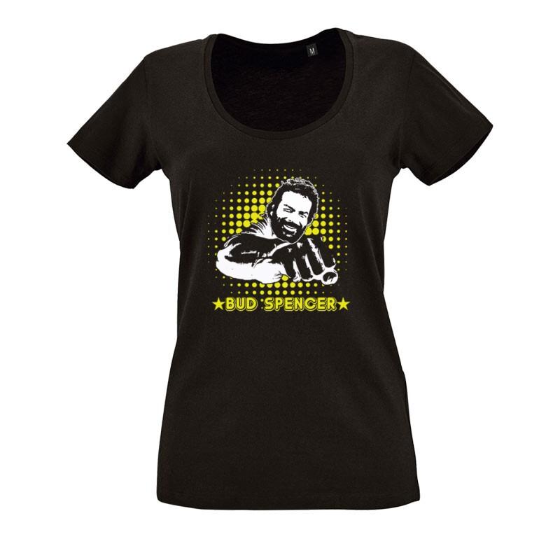 Bud Spencer O nyakú női póló