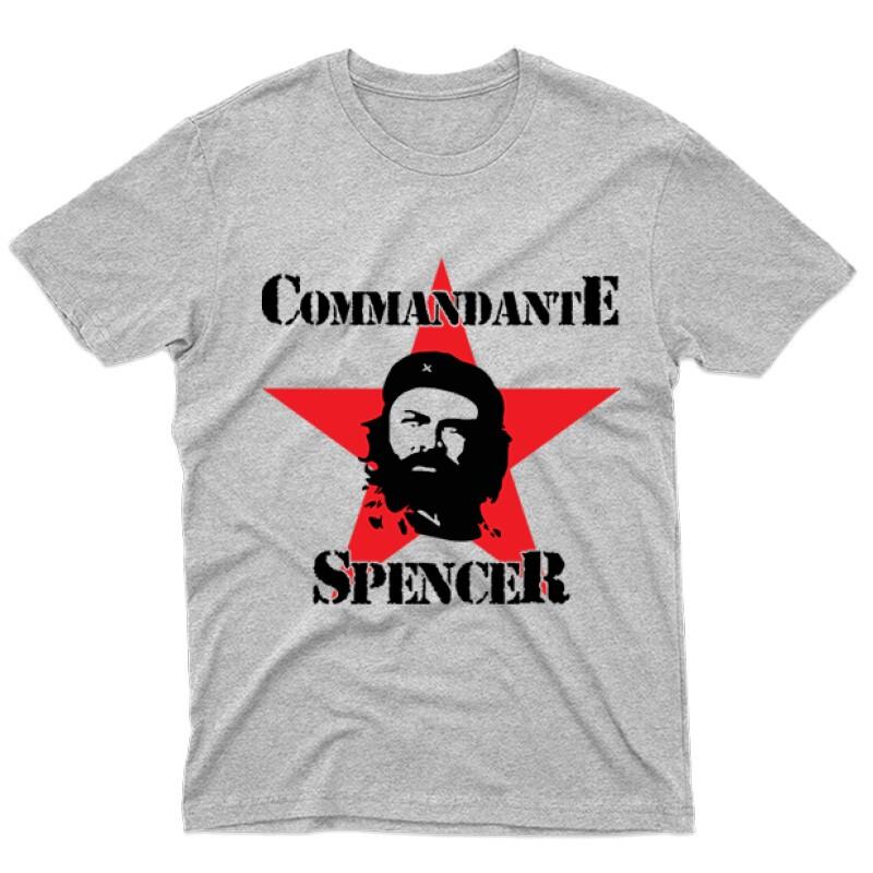 Commandante Spencer Férfi póló