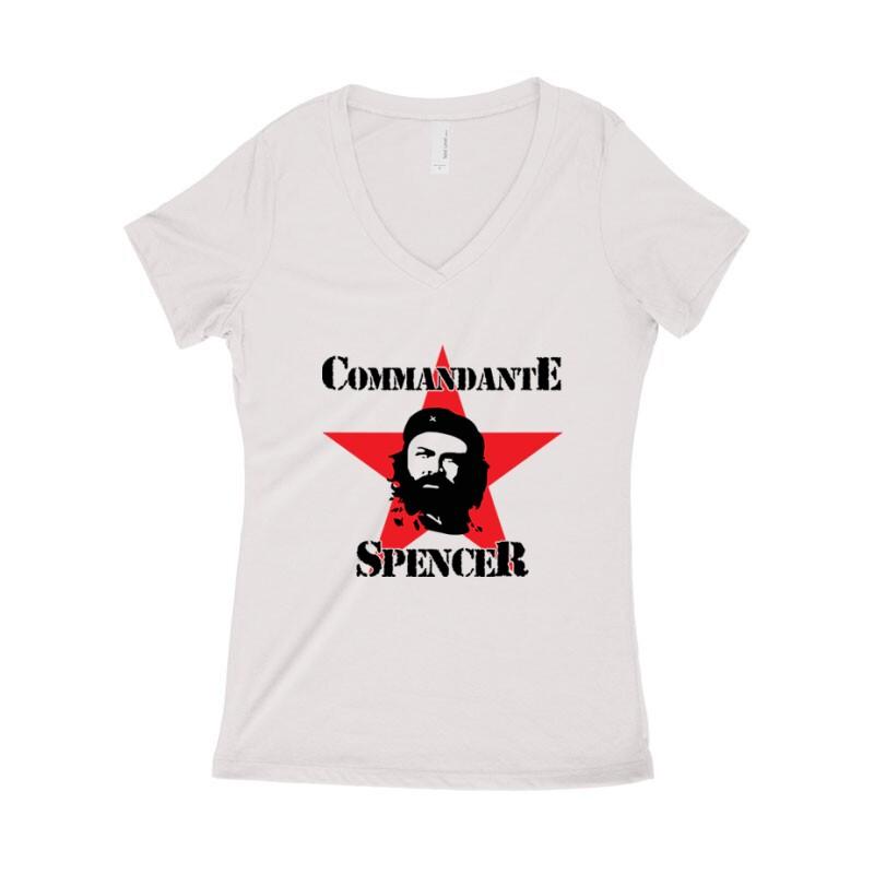 Commandante Spencer Női póló V kivágott