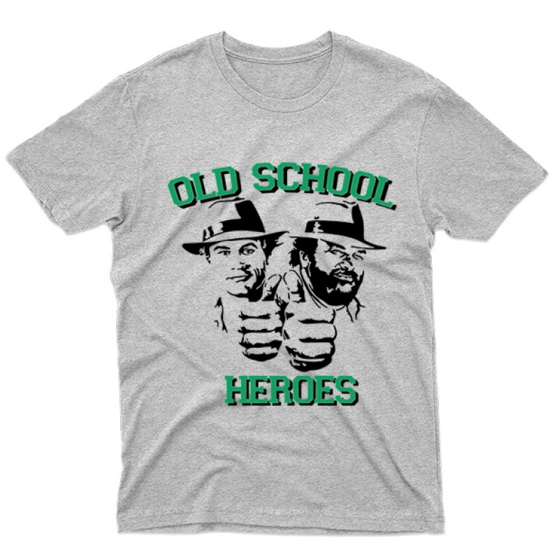 Old School Heroes Férfi póló