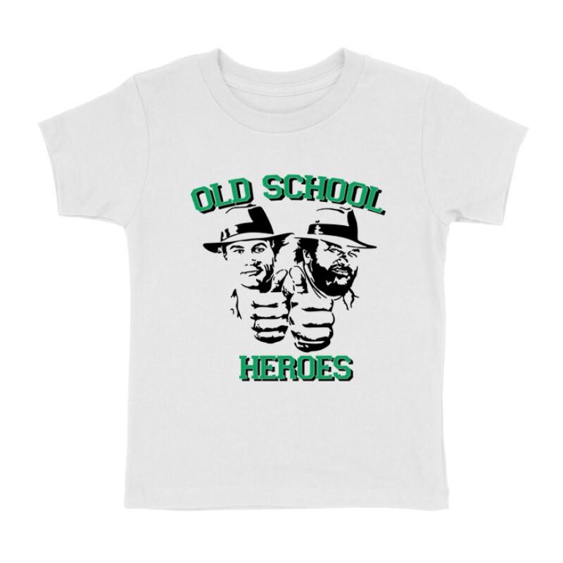Old School Heroes Gyermek póló