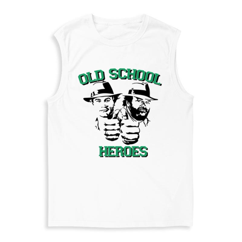 Old School Heroes Férfi Trikó