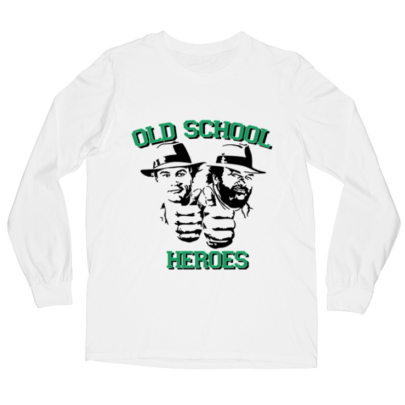 Old School Heroes Hosszú ujjú póló