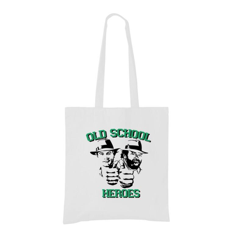 Old School Heroes Bevásárló táska