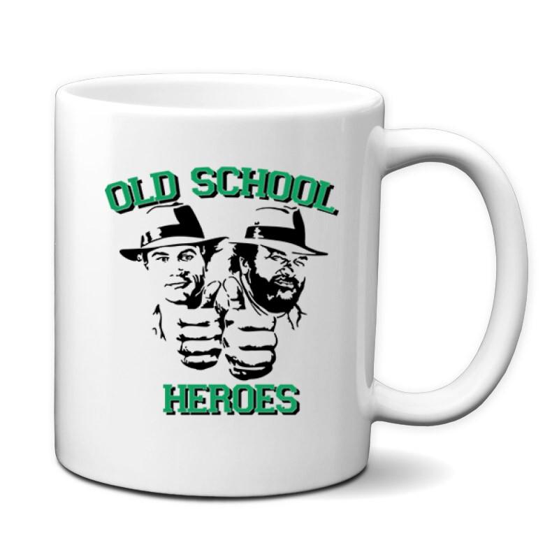 Old School Heroes Bögre