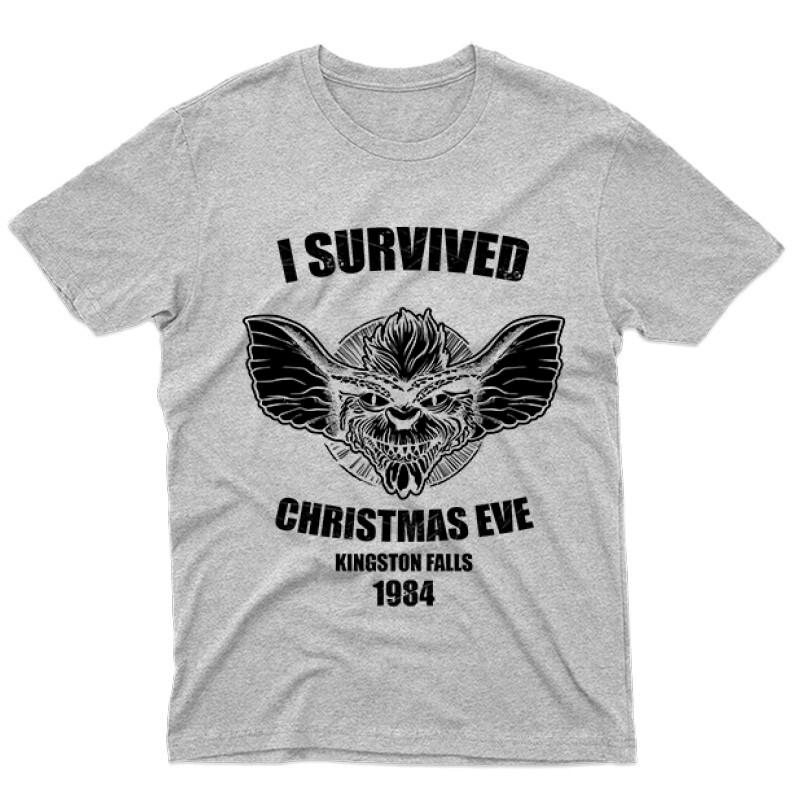 I Survived Férfi póló