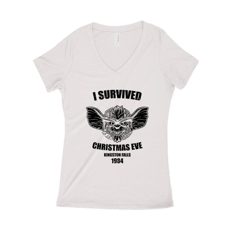 I Survived Női póló V kivágott