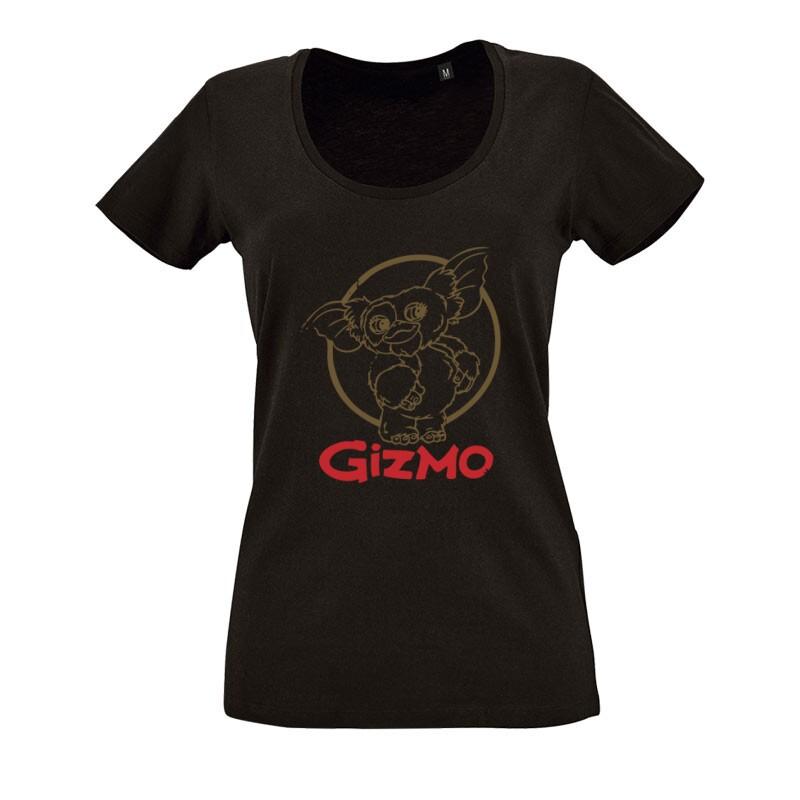 Gizmo Logo O nyakú női póló
