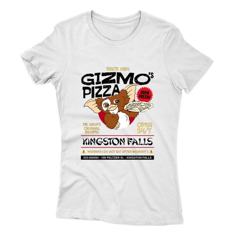 Gizmo Pzza Női póló