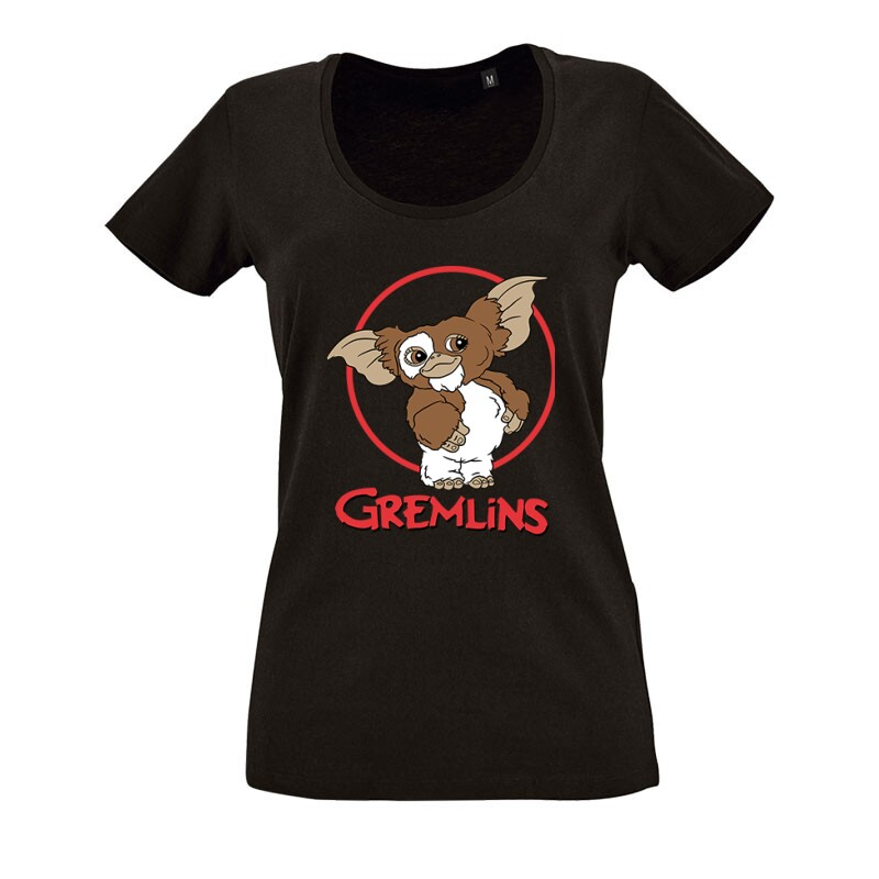 Gremlins O nyakú női póló
