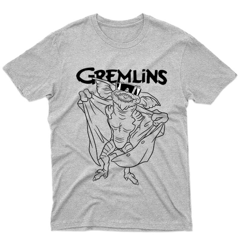 Spike Gremlins Férfi póló