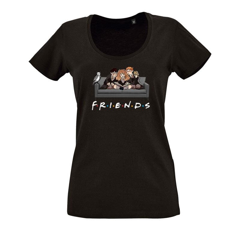 Friends(HP) O nyakú női póló