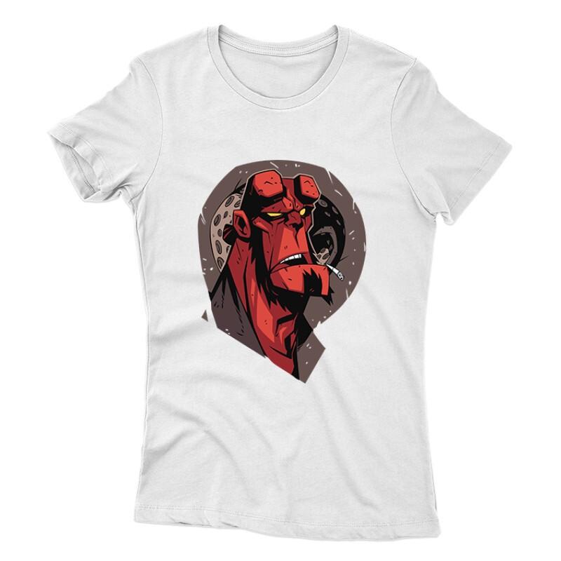 Hellboy Face Női póló