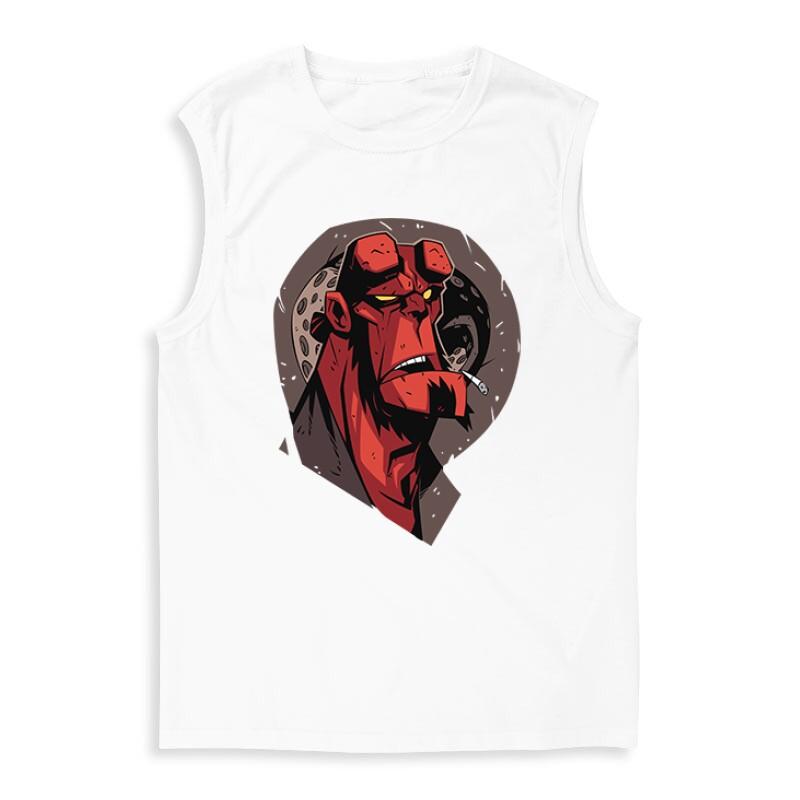 Hellboy Face Férfi Trikó