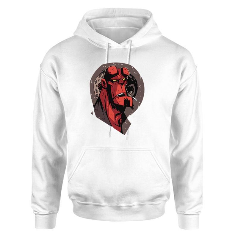 Hellboy Face Unisex pulóver
