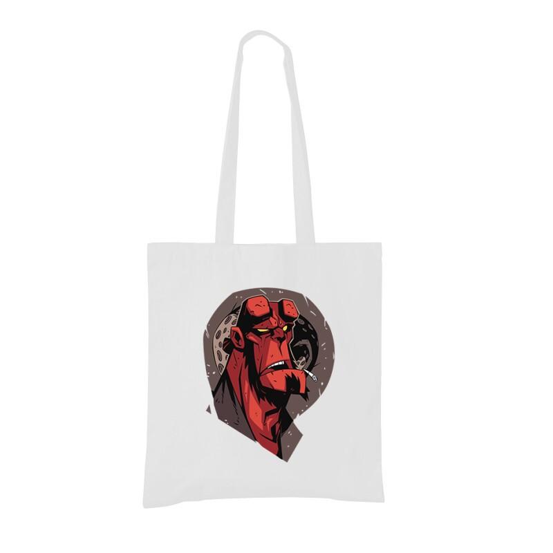 Hellboy Face Bevásárló táska