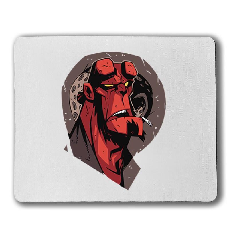 Hellboy Face Egérpad