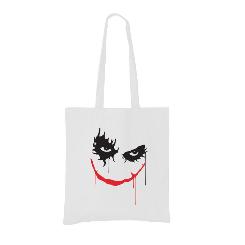 Joker Face Bevásárló táska