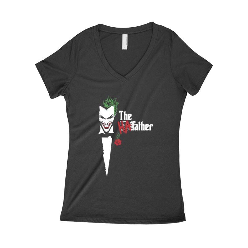 Joker Father Női póló V kivágott