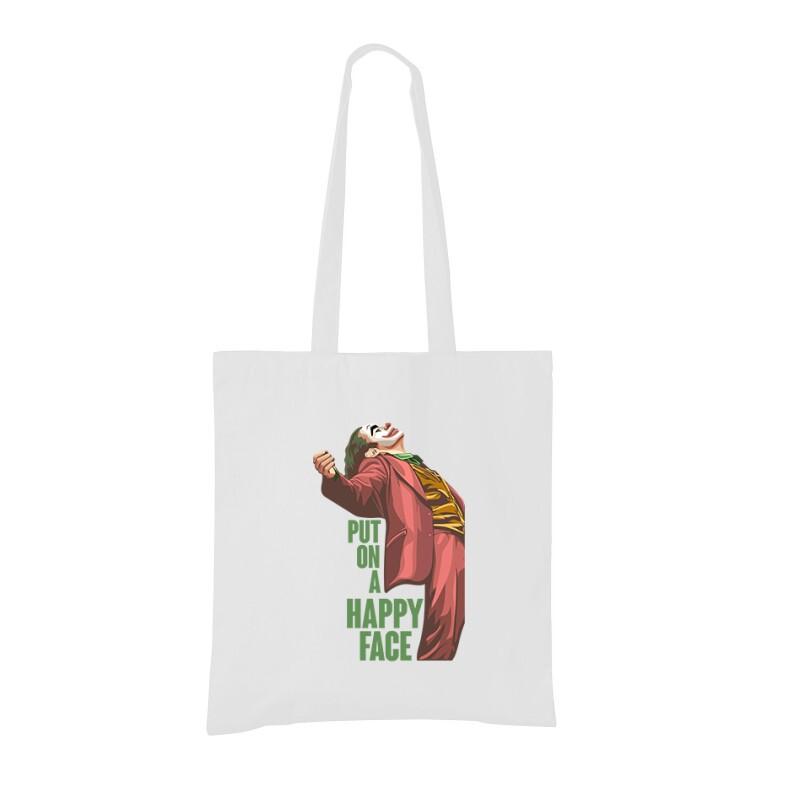 Put On A Happy Face Bevásárló táska