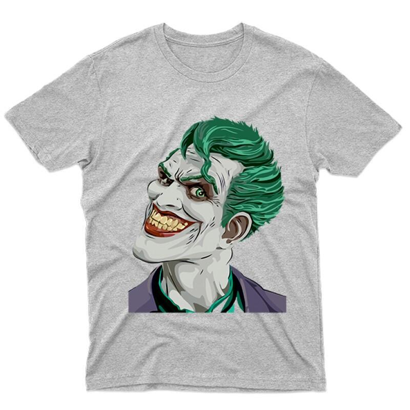 Joker Face Color Férfi póló