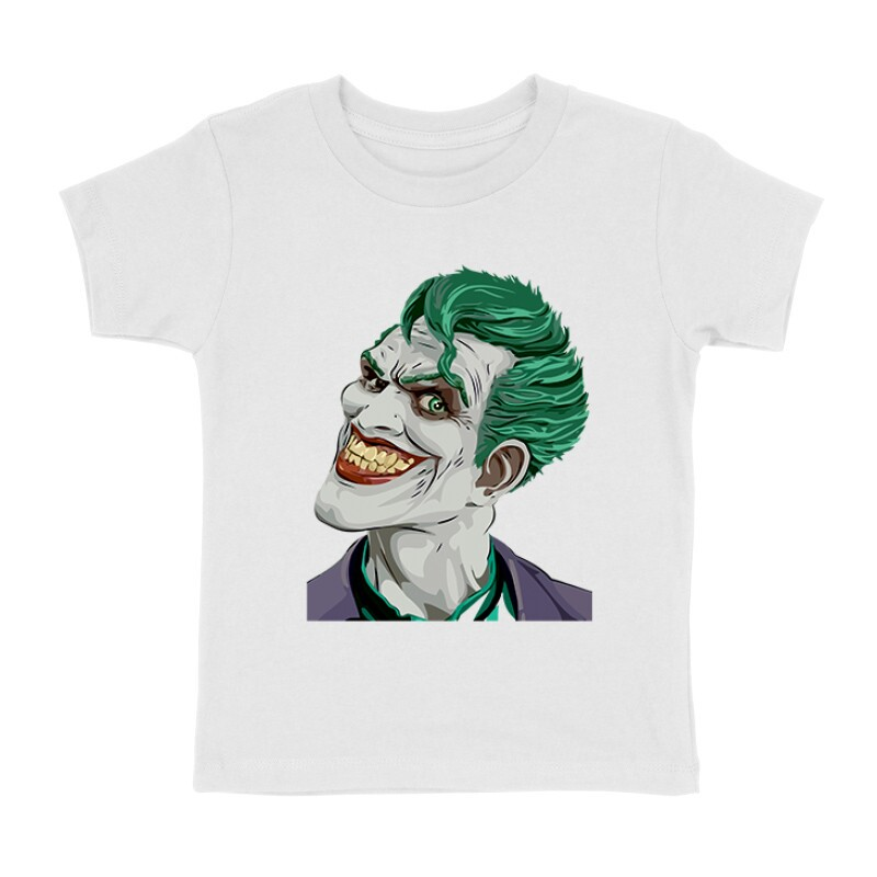 Joker Face Color Gyermek póló