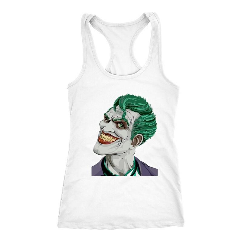 Joker Face Color Női Trikó